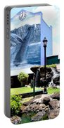 Old Kauai Village Clock Tower Portable Battery Charger