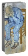 Old Man In Sorrow Portable Battery Charger
