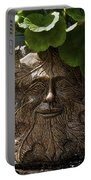 Old Man In The Garden Portable Battery Charger
