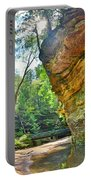 Old Man's Gorge Trail Hocking Hills Ohio Portable Battery Charger