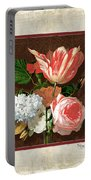 Old Masters Reimagined - Parrot Tulip Portable Battery Charger