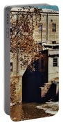 Old Mill In Autumn Portable Battery Charger