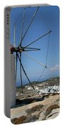 Old Mill In Greece Portable Battery Charger