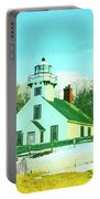 Old Mission Point Lighthouse Portable Battery Charger