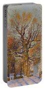 Old Oak-tree In Kolomenskoye Portable Battery Charger
