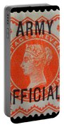 Old Orange Halfpenny Stamp  Portable Battery Charger