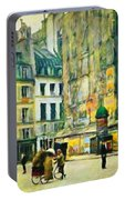 Old Paris Portable Battery Charger