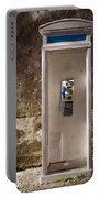 Old Phonebooth Portable Battery Charger