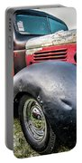 Old Plymouth Truck Portable Battery Charger