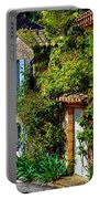 Old Provencal Village Street Portable Battery Charger