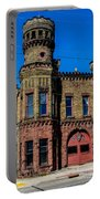 Old Racine Fire Station Portable Battery Charger