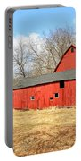 Old Red Barn Portable Battery Charger