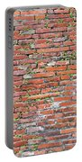 Old Red Brick Wall Portable Battery Charger
