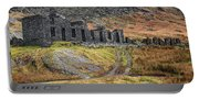 Old Ruin At Cwmorthin Portable Battery Charger