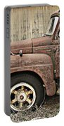 Old Rust Truck Portable Battery Charger