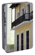 Old San Juan Puerto Rico Downtown  Portable Battery Charger