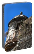 Old San Juan Puerto Rico Fort San Cristobal Portable Battery Charger