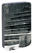 Old Stairs To Nowhere Portable Battery Charger