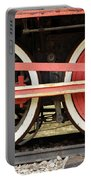 Old Steam Locomotive Iron Rusty Wheels Portable Battery Charger