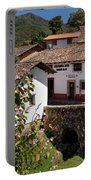 Old Stone Bridge In Historic Hillside Village Of San Sebastian D Portable Battery Charger