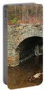 Old Stone Bridge In Illinois 1 Portable Battery Charger