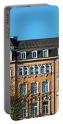 old Town buildings in Aachen, Germany Portable Battery Charger