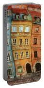 Old Town In Warsaw # 32 Portable Battery Charger