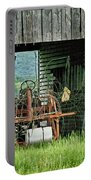 Old Tractor - Missouri - Barn Portable Battery Charger