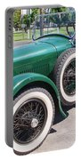 Old  Vintage Car Portable Battery Charger