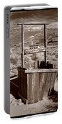Old Well Bodie Ghost Twon California Portable Battery Charger