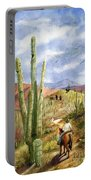 Old Western Skies Portable Battery Charger