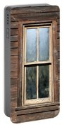 Old Western Window Portable Battery Charger