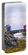 Old Whaling Village Nyksund Portable Battery Charger