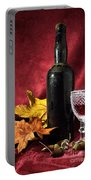 Old Wine Bottle Portable Battery Charger
