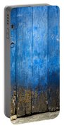 Old Wooden Door Portable Battery Charger