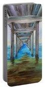 Old Wooden Pier Portable Battery Charger