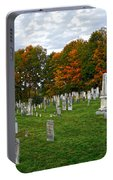 Old Yard Cemetery Stowe Vermont Portable Battery Charger