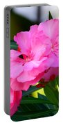 Oleander Blooming Portable Battery Charger
