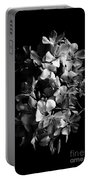 Oleander Flowers In Black And White 2 Portable Battery Charger