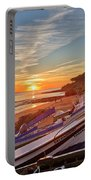 Olhos D'agua Village Sunset Portable Battery Charger