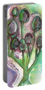Olive Branches Portable Battery Charger