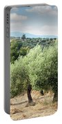 Olive Trees Hill Portable Battery Charger