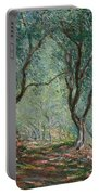 Olive Trees In The Moreno Garden Portable Battery Charger