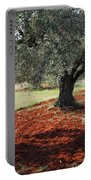 Olive Trees Portable Battery Charger