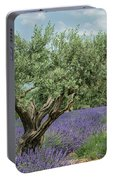 Olive Trees Of Provence Portable Battery Charger