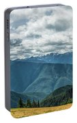 Olympic Mountains Portable Battery Charger