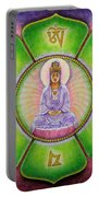Om Mani Padme Hum Kuan Yin Portable Battery Charger