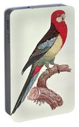 Omnicolored Parakeet Portable Battery Charger