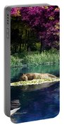 On A Lake Portable Battery Charger by Svetlana Sewell