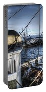 On The Docks In Provincetown Portable Battery Charger